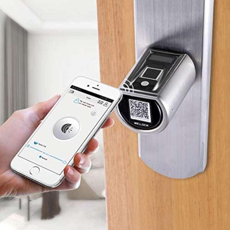 WE.LOCK SECB - Smartes Elektronisches Türschloss mit Fingerabdruck-Sensor für 169€ (statt 189€)