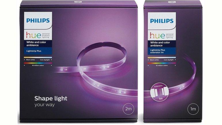 Philips Hue Lightstrip Plus (2m + 1m Erweiterung) für 55,64€ inkl. VSK