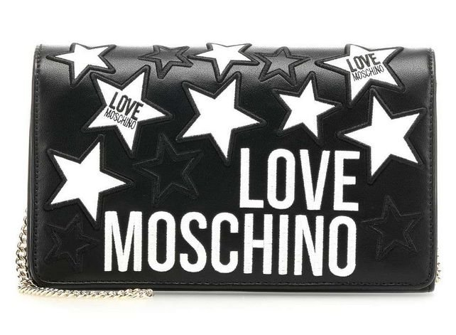 Love Moschino Crossbody Bag mit Logo-Details (versch. Farben) für 55,99€ inkl. Versand (statt 100€)