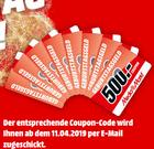 Media Markt Coupon Aktion: Bis zu 500€ beim Kauf aus dem aktuellen Prospekt