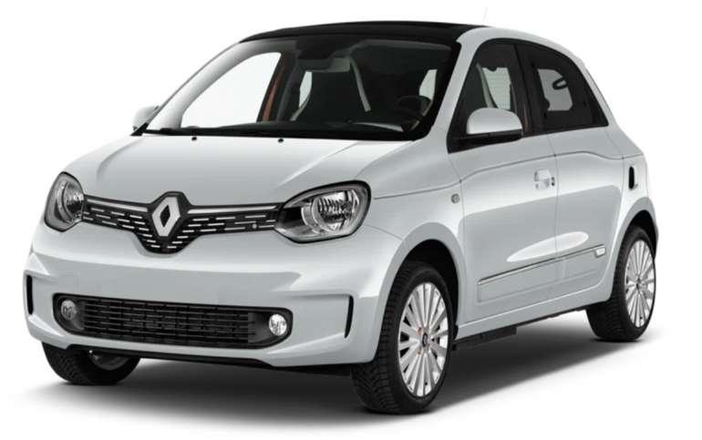 Preisfehler? Privatleasing: Renault Twingo Electric mit 82 PS für 8,46€ mtl. (BAFA, Überführung: 590€)