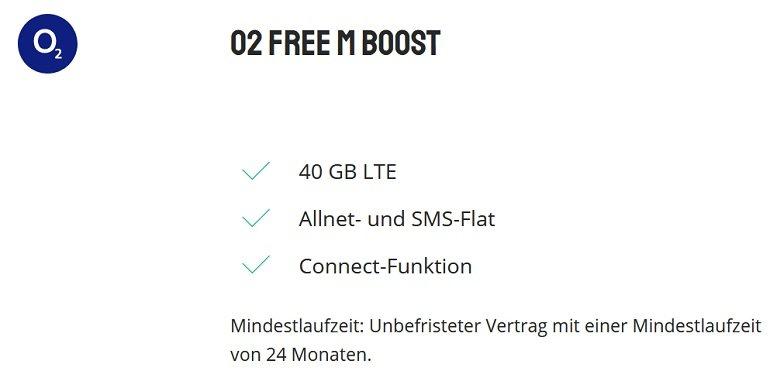 Samsung Galaxy S20 5G o2 Free M Boost Allnet-Flat mit 40GB LTE