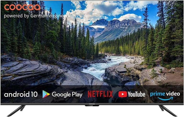 """Coocaa 50S6G - 50"""" Smart TV (4K UHD, Android 10, Triple Tuner) für 423,20€ (statt 475€)"""