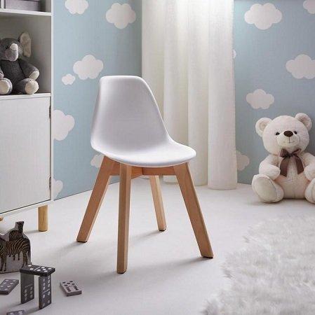 2x Kinderstuhl Julie aus Buchenholz und Kunststoff für 22,35€ (statt 35€)