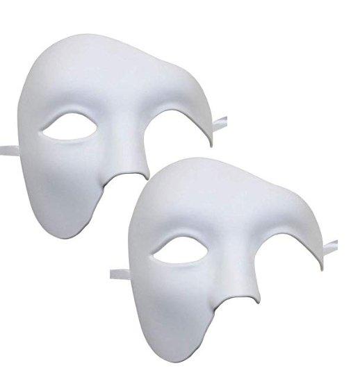 """Coofit """"Phantom der Oper"""" Maske im Doppelpack für 2,99€ inkl. Prime VSK"""