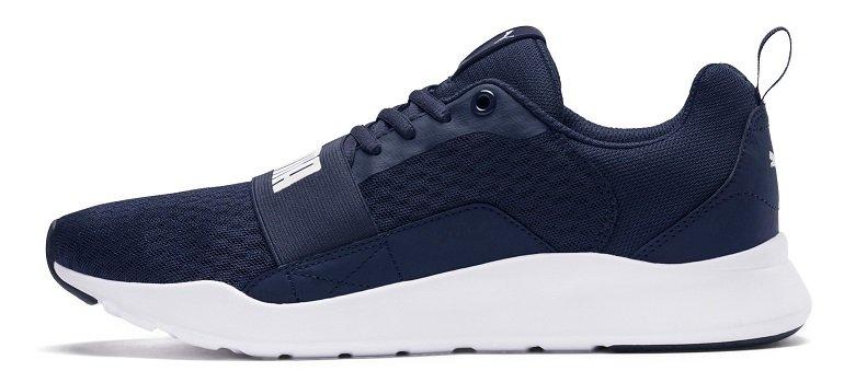 Puma Wired Unisex Sneaker in Blau 2