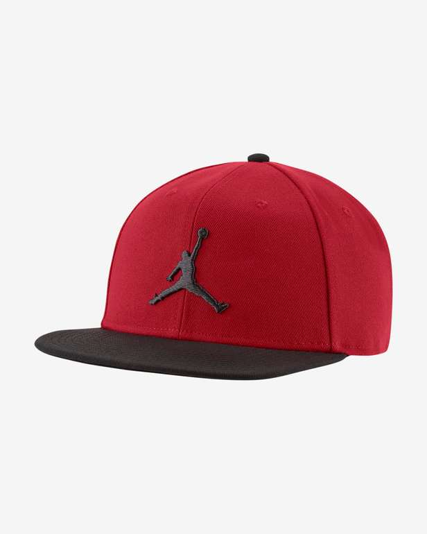 Jordan Pro Jumpman Snapback-Cap in Rot für 17,98€ inkl. Versand (statt 29€) - Nike Member