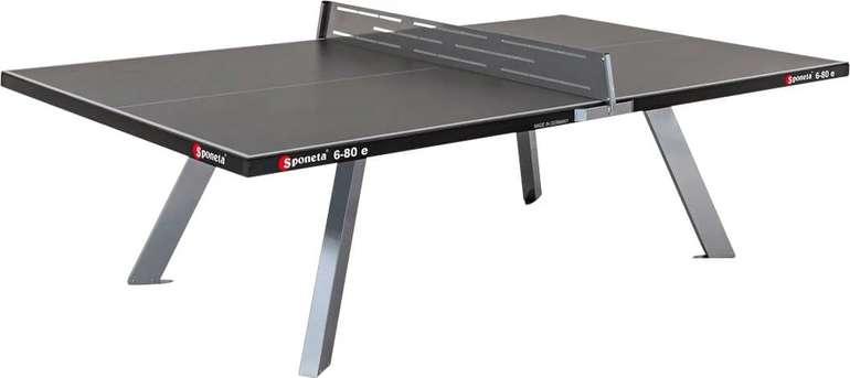 Sponeta S6-80E Outdoor- Tischtennisplatte (wetterfest, Metallnetz, 134kg) für 718,95€ inkl. Versand (statt 949€)