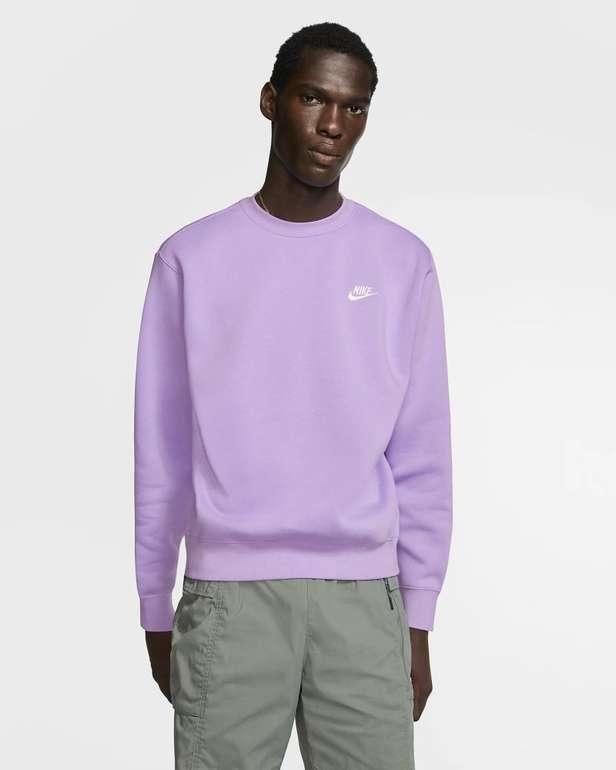 Nike Sportswear Club Fleece Rundhalsshirt in 4 Farben für je 31,98€ (statt 36€) - Nike Membership!