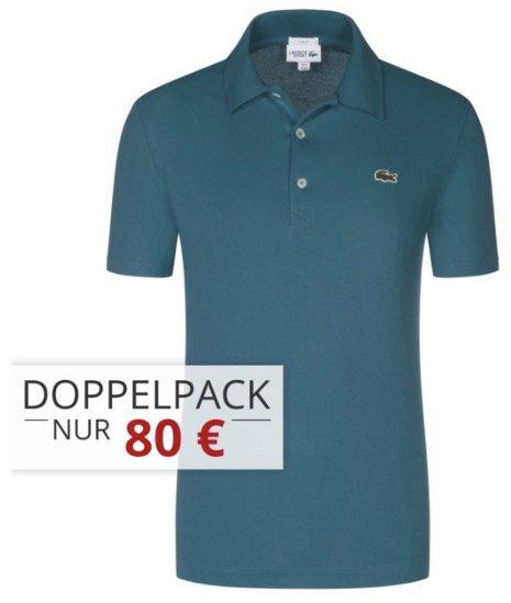 Hirmer mit 2 Lacoste Polos (Waffel-Pique) zu 75,95€ oder 3 für 110€ inkl. VSK