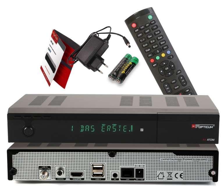 """Opticum Red """"Atom 4K UHD"""" SAT-Receiver (PVR Ready, IP TV Ready) für 59,90€ inkl. Versand (statt 74€)"""