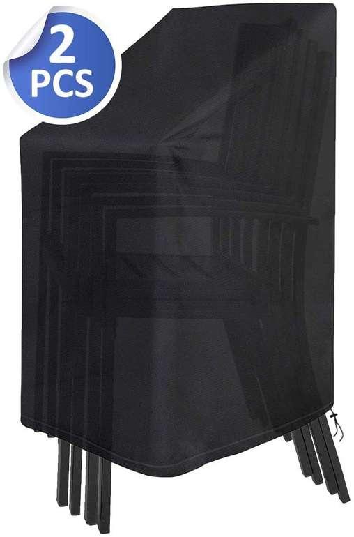 Safetyon wasserdichte Schutzhülle für Stapelstühle im Doppelpack für 18,19€ inkl. Prime Versand (statt 26€)