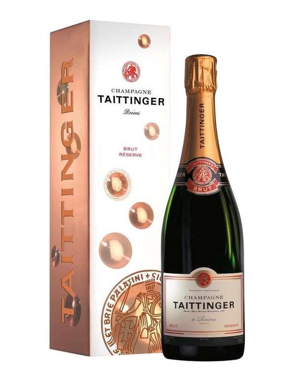 Taittinger Brut Réserve Champagner (0,75L, Geschenkverpackung) für 33,90€ inkl. Versand (statt 49€)