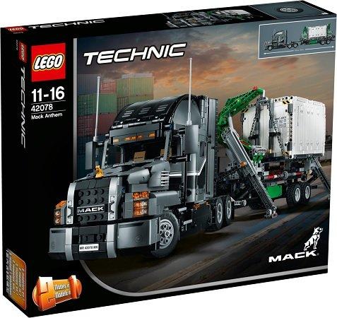 LEGO Technic 42078 - Mack Anthem für 99,94€ inkl. Versand (statt 116€)