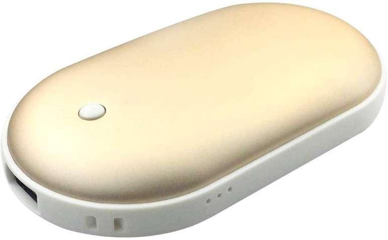 Decdeal wiederaufladbarer Handwärmer mit integrierter Powerbank (5 Farben) für je 9,99€
