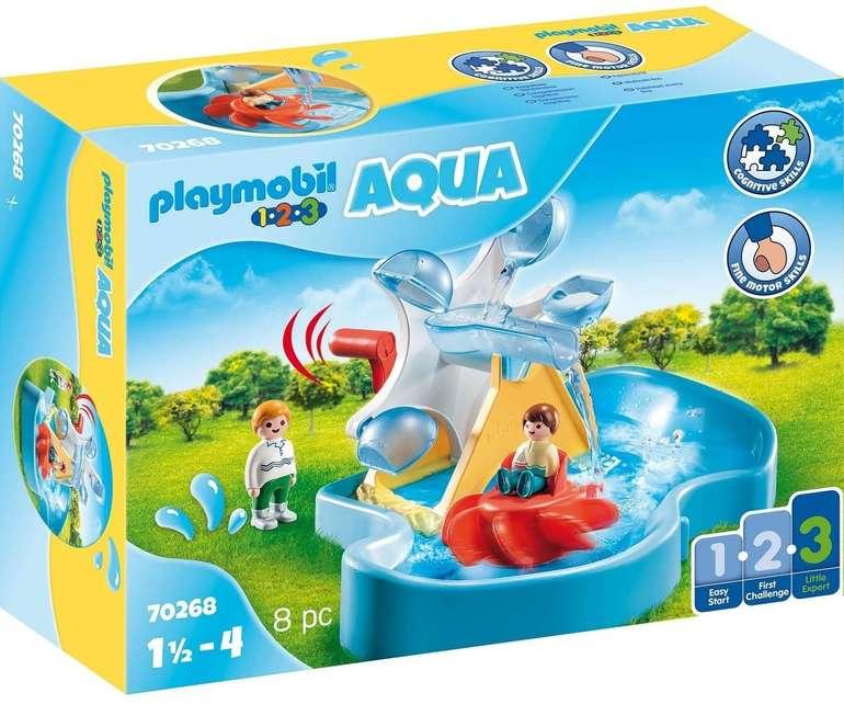 Playmobil 1.2.3 (70268) - Aqua Wasserrad mit Karussel für 13,31€ inkl. Versand - Prime!