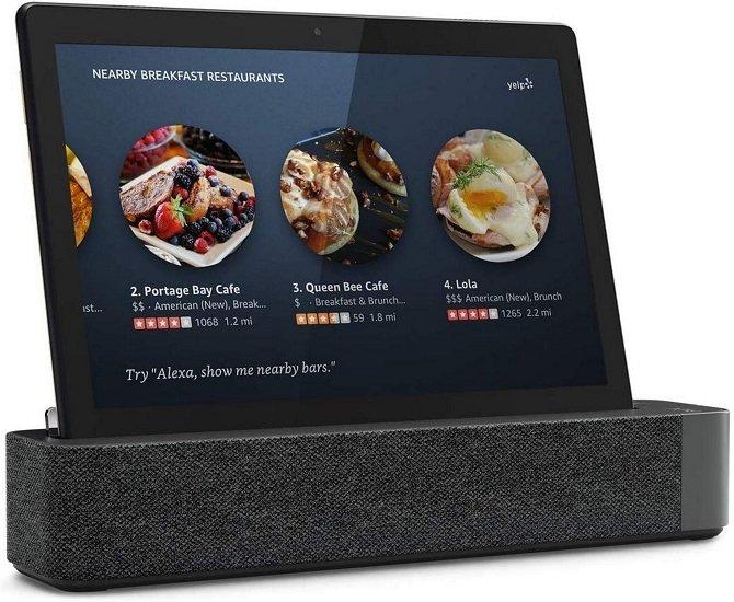 "Lenovo Smart Tab P10 mit Alexa Docking Station (10.1"", IPS FHD, 3GB RAM, 32GB) für 149€ inkl. Versand"