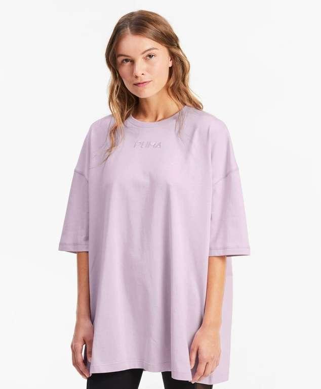 Puma übergroßes Damen T-Shirt in 3 Farben für je 13,57€ inkl. Versand (statt 19€)
