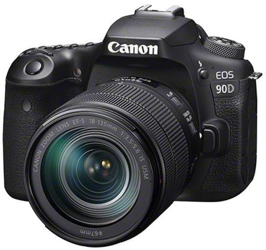 Canon EOS 90D Gehäuse und EF-S 18-135mm Objektiv für 1245€ inkl. Versand (statt 1528€)