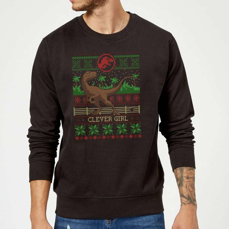 Jurassic Park Bundle: Weihnachts-Pullover + Tasse für 18,48€ (statt 25€)