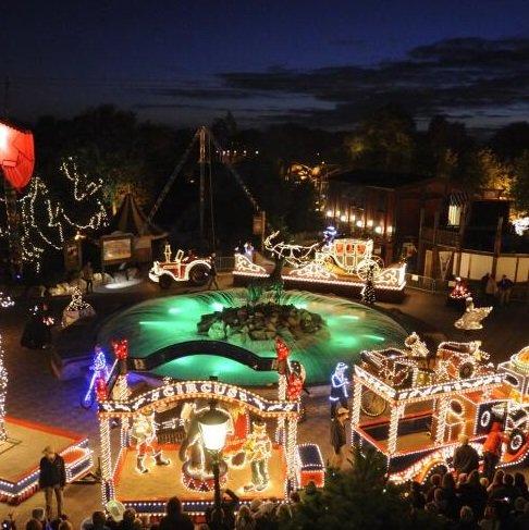 Advent im Freizeitpark Slagharen: Eintritt + 2 ÜN im Hotel (2 Erw. + 4 Kinder) für 135€