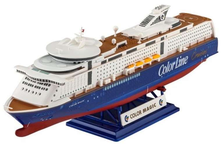 Revell Model Set - M/S Color Magic Modellbausatz (6581) für 10,99€ inkl. Versand