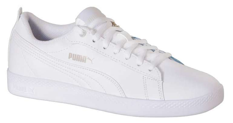 Puma Sneaker  'Smash Wns v2 L' in weiß für 25,94€ inkl. Versand (statt 37€)