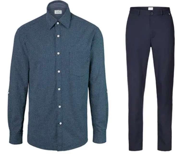 Tchibo Herren Leinenhemd + Chino für nur 25€ inkl. Versand (statt 45€)