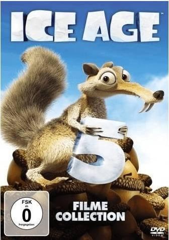 Ice Age 1-5 Collection (Box Set) [DVD] für 14€ inkl. Versand (statt 17€)