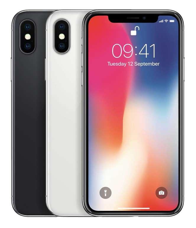 Apple iPhone X mit 256GB Speicher für 499,90€ inkl. Versand (B-Ware)