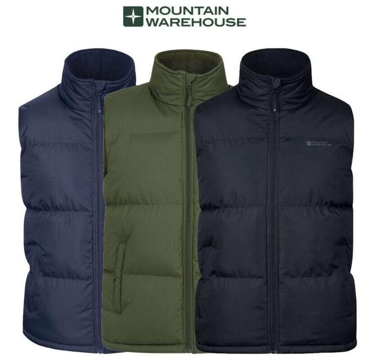 Mountain Warehouse Rock gepolstertes Herren-Gilet (Weste) für 24,99€ (statt 40€)