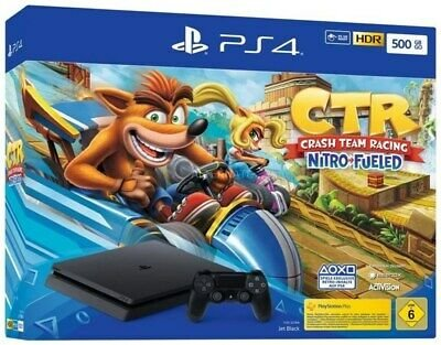 Sony Playstation 4 Slim 500GB + Crash Team Racing für 255€ (statt 279€)