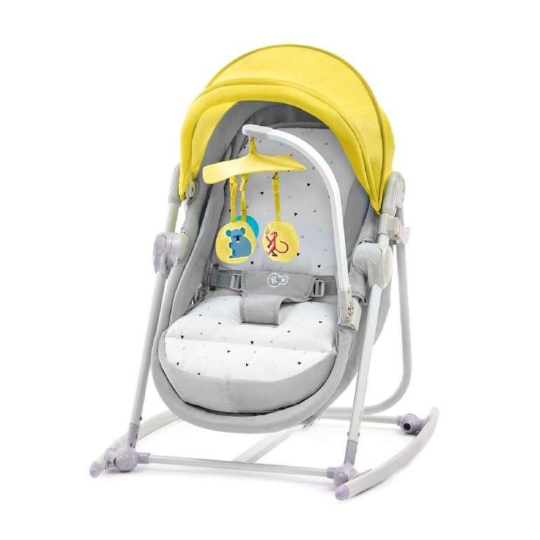 Kinderkraft 5-in-1 Babywiege Unimo Yellow für 51,14€ inkl. Versand (statt 71€)