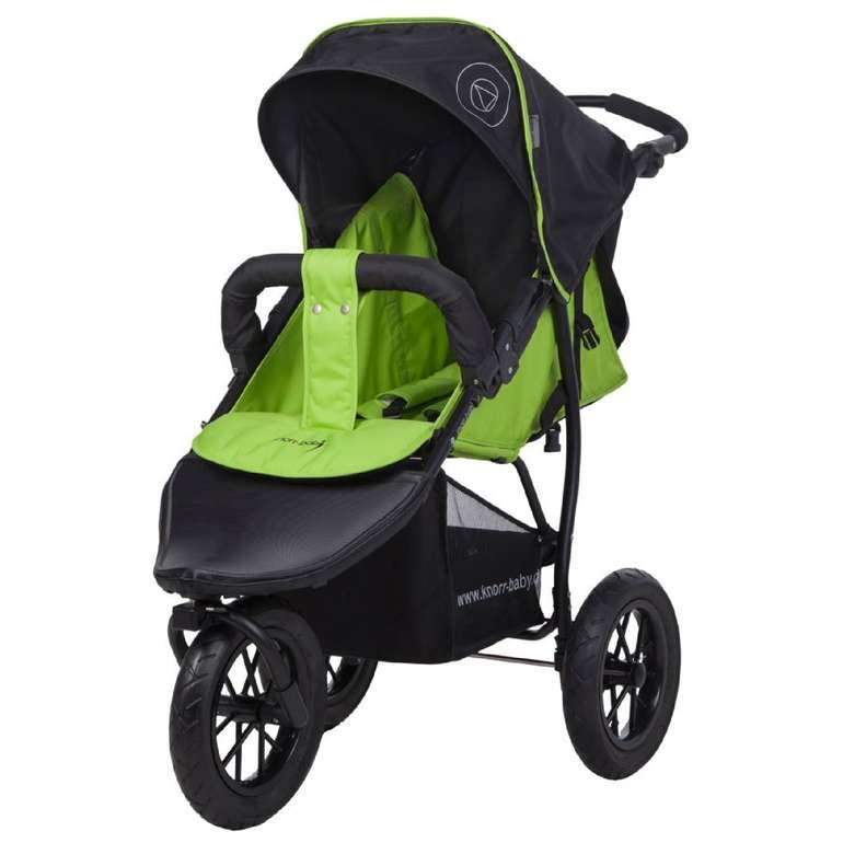 Knorr-baby Sportwagen Joggy S Happy Colour grün für 109,99€ inkl. Versand (statt 125€)