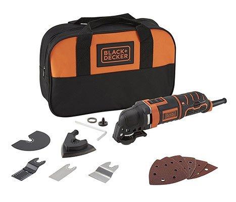 Black & Decker MT300SA2 Multifunktionswerkzeug mit 12-tlg. Zubehör für 62,01€