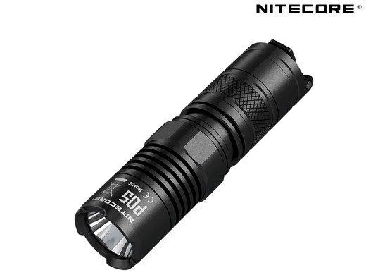 Nitecore P05 Kompakte Taschenlampe (460 lm, 150 m) für 30,90€ (statt 50€)