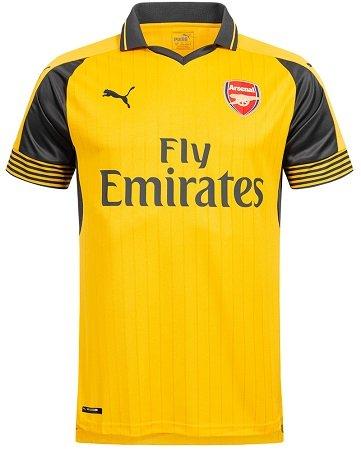 Puma FC Arsenal London Herren Auswärts Trikot (2016/17) für 23,94€ inkl. VSK