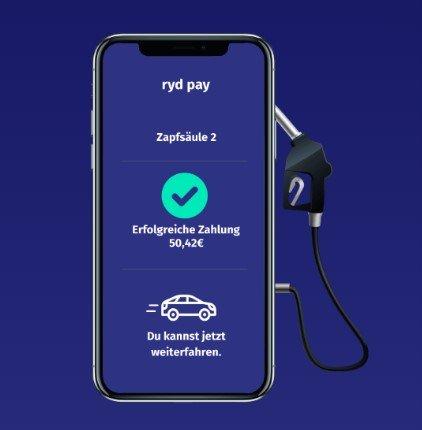 RYD App 3 x 10€ Gutschein bei Zahlung mit Mastercard
