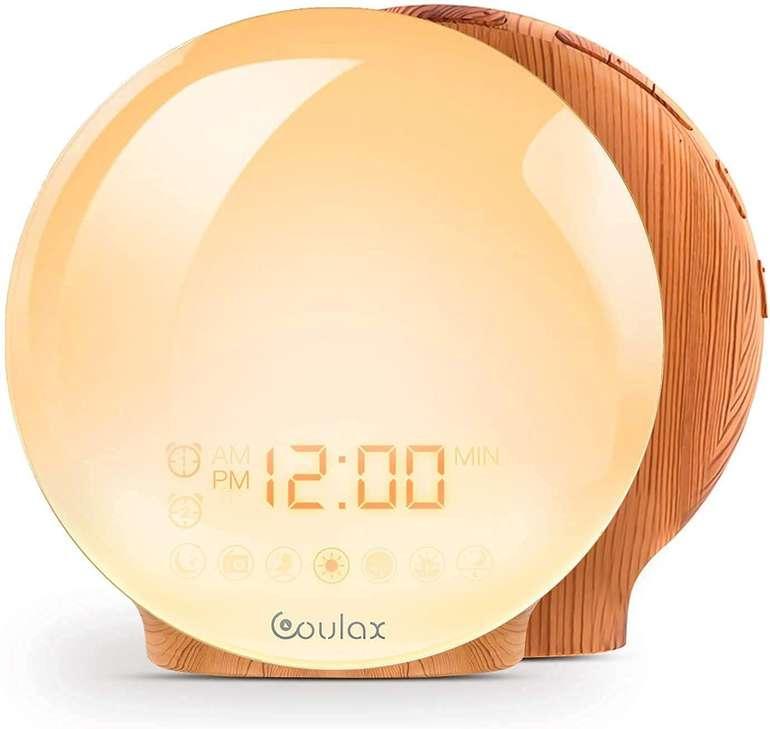 Coulax Lichtwecker (2 Weckzeiten, FM Radio) für 15€ inkl. Versand (statt 24€)