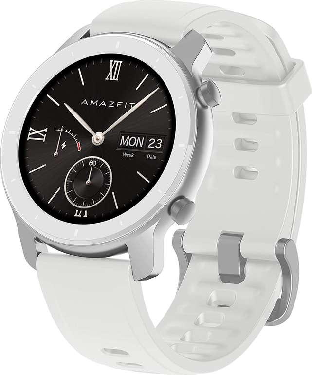 Huami Amazfit GTR Smartwatch (42mm) in weiß für 79,53€ inkl. Versand (statt 90€)