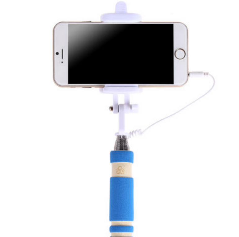 Schnell: Foldable Mini Wired Selfie Stick für 1€ inklusive Versandkosten