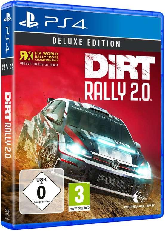 Saturn Entertainment Weekend Deals, z.B. DiRT Rally 2.0 Deluxe Edition (PS4) für 21€ (statt 39,94€)