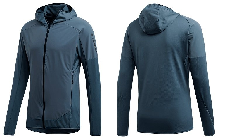 adidas Terrex Skyclimb Fleece Kapuzenjacken