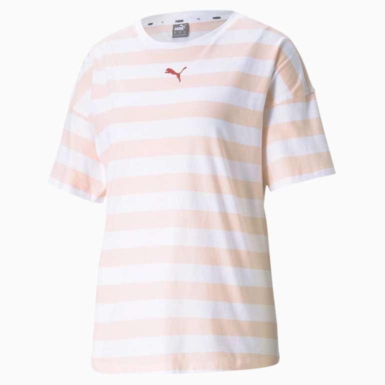 Puma Summer Stripes Printed Damen T-Shirt in 2 Farben für je 13,96€ inkl. Versand (statt 17€)