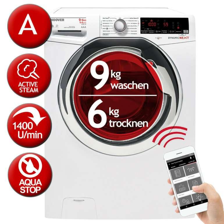 Hoover Waschtrockner (WDXOA G496AHC-84) Waschen 9kg/Trocknen 6kg für 350,91€ (statt 400€)