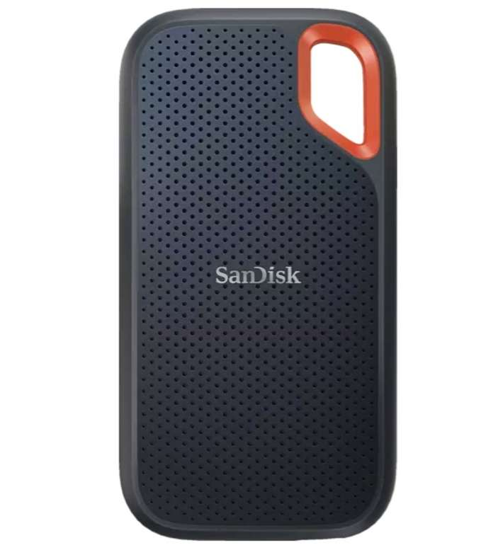 SanDisk Extreme Portable SSD V2 1TB, externe USB 3.2 Gen 2 SSD für 119€ (statt 140€) - Newsletter Gutschein!