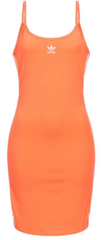adidas Originals Damen Spaghettiträger Kleid in Orange für 20,94€inkl. Versand (statt 25€)