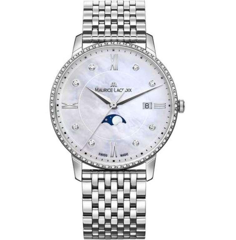 """Maurice Lacroix Elrios Moonphase """"EL1096-SD502-170-1"""" Damenuhr für 839,30€ inkl. Versand (statt 990€)"""