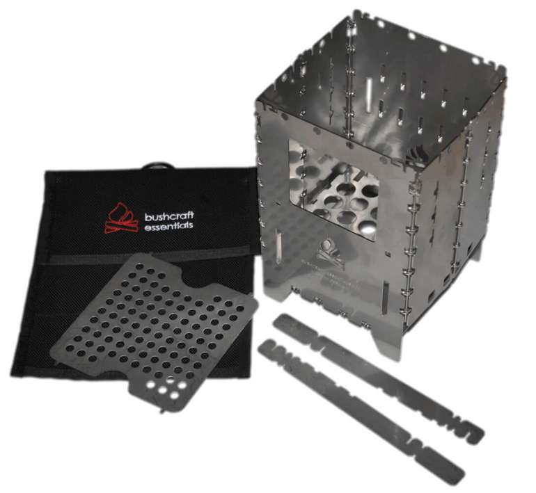 Bushcraft Essentials Bushbox XL Profi Set Trockenbrennstoffkocher für 83,26€ inkl. Versand (statt 98€)