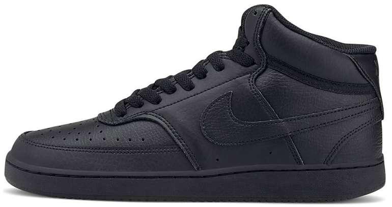 """Nike Court Vision Mid Sneaker im """"All-Black""""-Colourway für 50,97€ inkl. Versand (statt 57€)"""